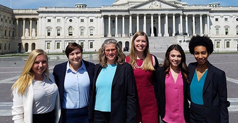 Winners of the Capitol Hill Scholars essay contest