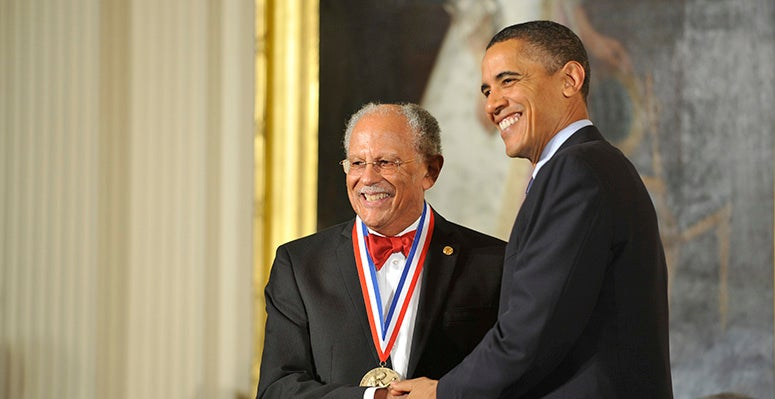 NCAR scientist Warren Washington receives national medal of science from President Barack Obama