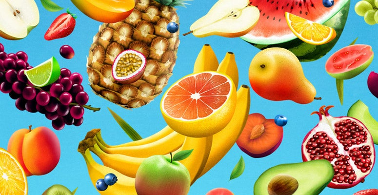 Image of fruit from the Harvard Business Review article