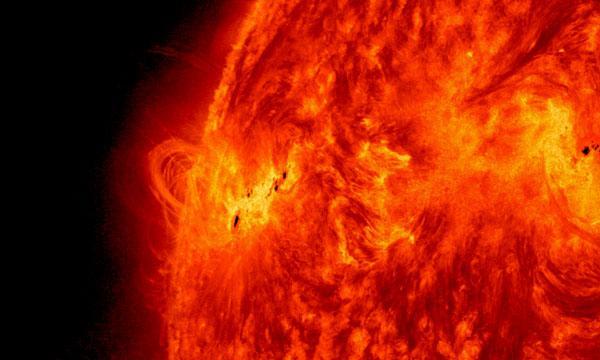 An X class solar flare