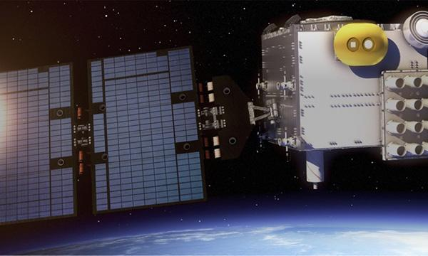 COSMIC-2 microsatellite, artist illustration